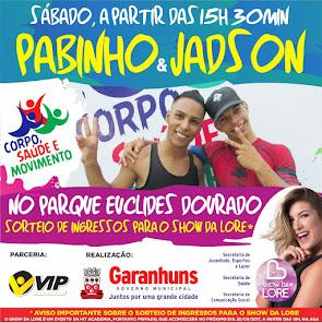 PABINHO & JADSON NO CORPO, SAÚDE E MOVIMENTO.
