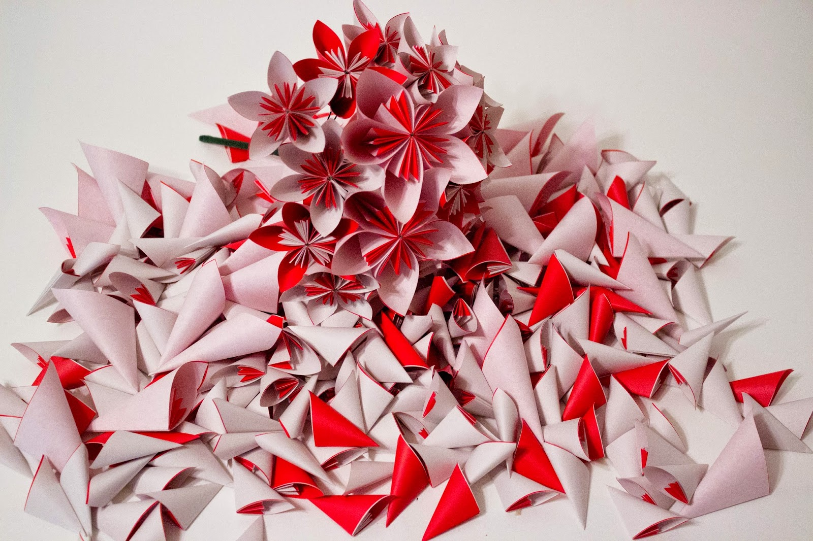Will Fold For Paper Wedding Bouquets