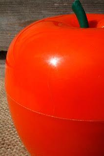 Pomme glaçon vintage des années 70 - orange ! La puce au grenier