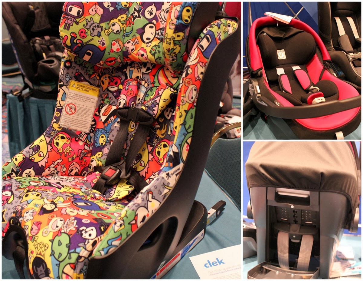 2014 Clek Foonf and Peg-Perego Primo Viaggio SIP at #MommyCon #MommyConChicago #carseat