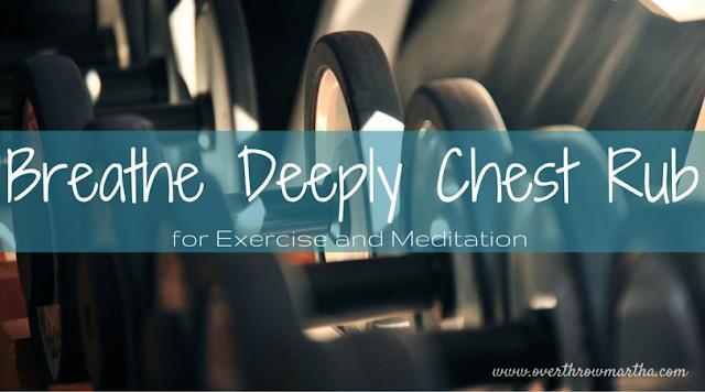 #breathe deeply chest rub #DIY