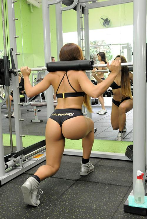Cheros en el gym cipro side