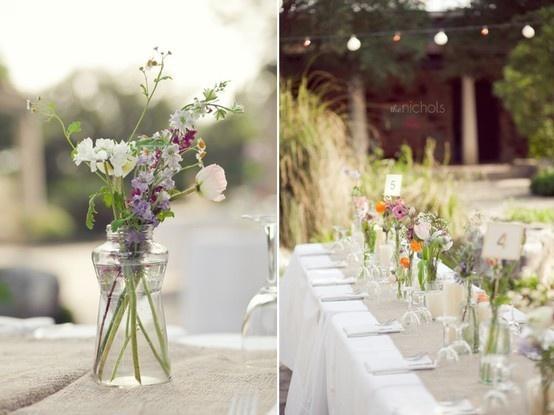Wild Wedding Loving Wild Flowers