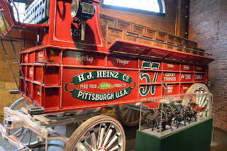 Heinz wagon at the Heinz History Museum