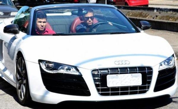 Image result for Neymar's Audi R8 Gi