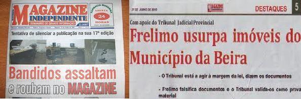 """ANGOLA TRATA JORNALISTAS MOÇAMBICANOS… """"COMO CÃES E COMO CRIMINOSOS""""!"""