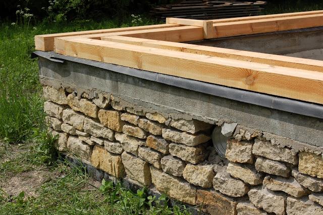 Fundamenty domu z gliny