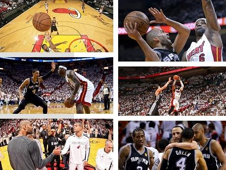 NBA Finals 2013 Spurs vs. Heat Game 1: San Antonio steals home-court advantage wins 92 - 88