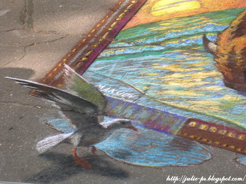 Краски Петербурга, Международный фестиваль уличного искусства, Фестиваль 3D-рисунков на асфальте, Крестовский остров