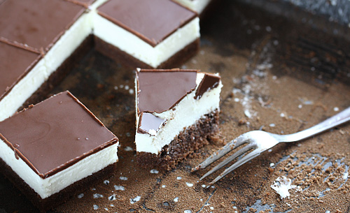 Hazelnut Opera Cake- I can't resist the combination of chocolate and ...