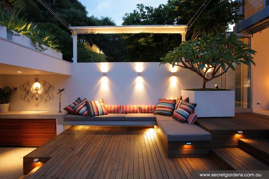 حدائق بتصميم عصري