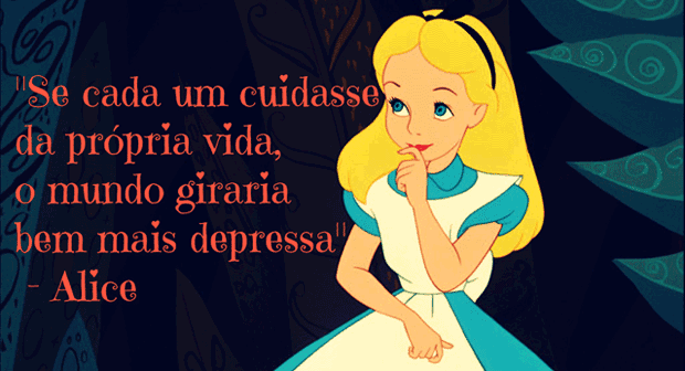 Frase Alice No País Das Maravilhas Alices Adventures In