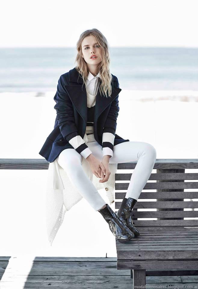 Moda otoño invierno 2015 ropa de mujer abrigos Paula cahen D'Anvers otoño invierno 2015.