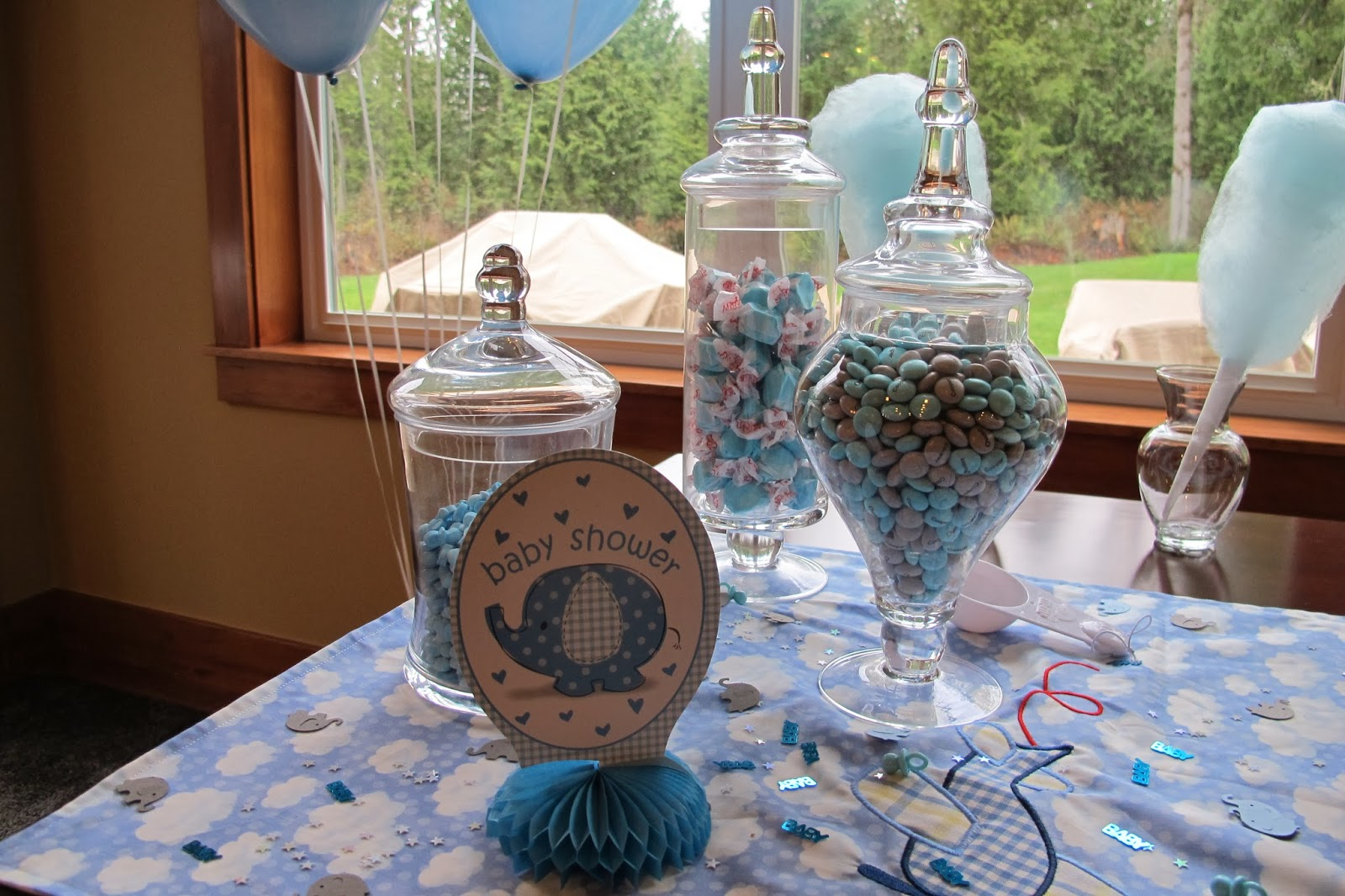 Sew what's cooking with Joan!: Baby Boy shower ideas! Waiting for