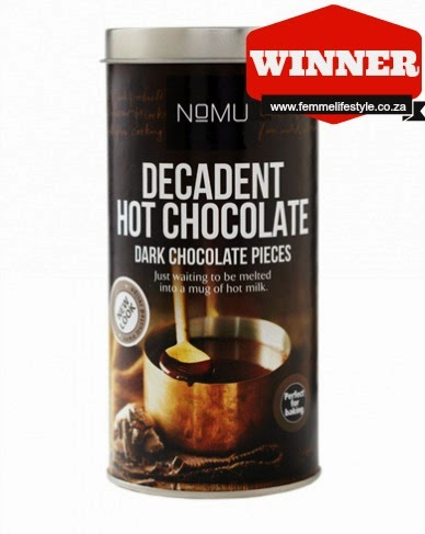 NOMU Decadent Hot Chocolate ...perfect for an Autumns day ...