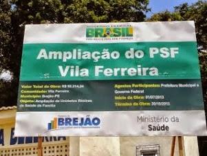 Ampliação PSF da Vila Ferreira