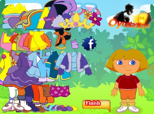 juego Vestir a Dora 2