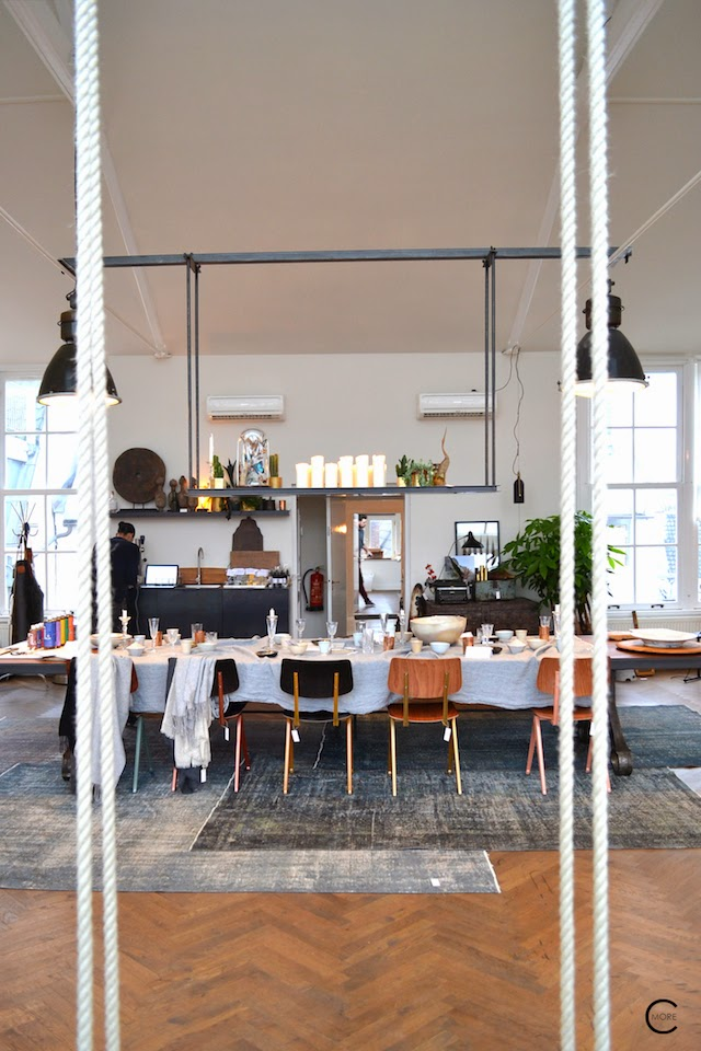 House Tour Industrial Eclectic Amsterdam Loft