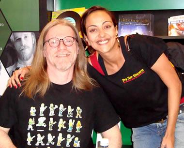HG, Heder e Marina Loureiro