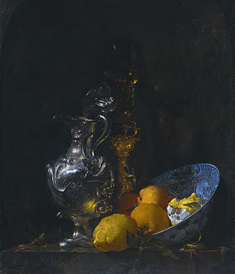 Willem Kalf - STILL LIFE WITH SILVER JUG