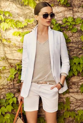 Massimo Dutti primavera verano 2013 bermudas americana jersey mujer