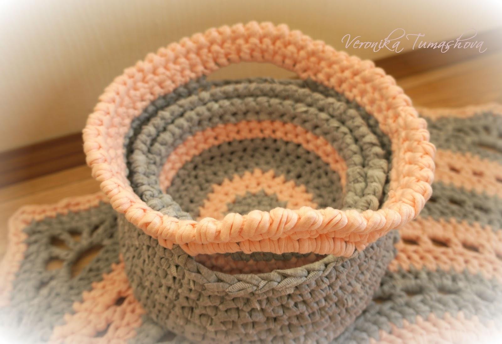 схема ковра из полиэфирного шнура
