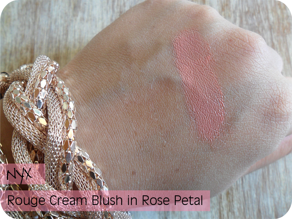 NYX ROUGE CREAM BLUSH ROSE PETAL