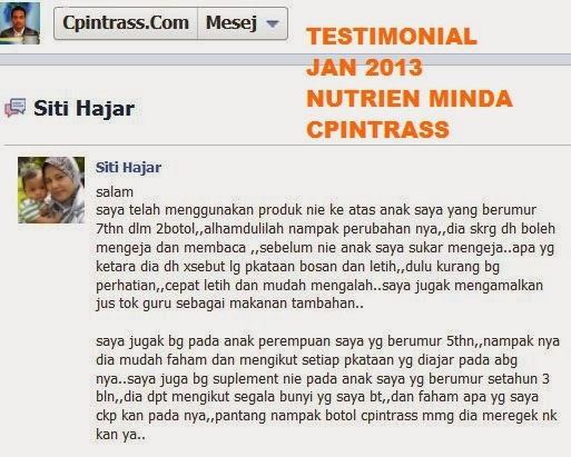 makanan minda, vitamin minda, nutrien minda, cpintrass, alhikmah, anjung hikmah, produk halal cpintrass,