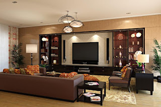 Home theater in the living room multifunction home entertainment, Image