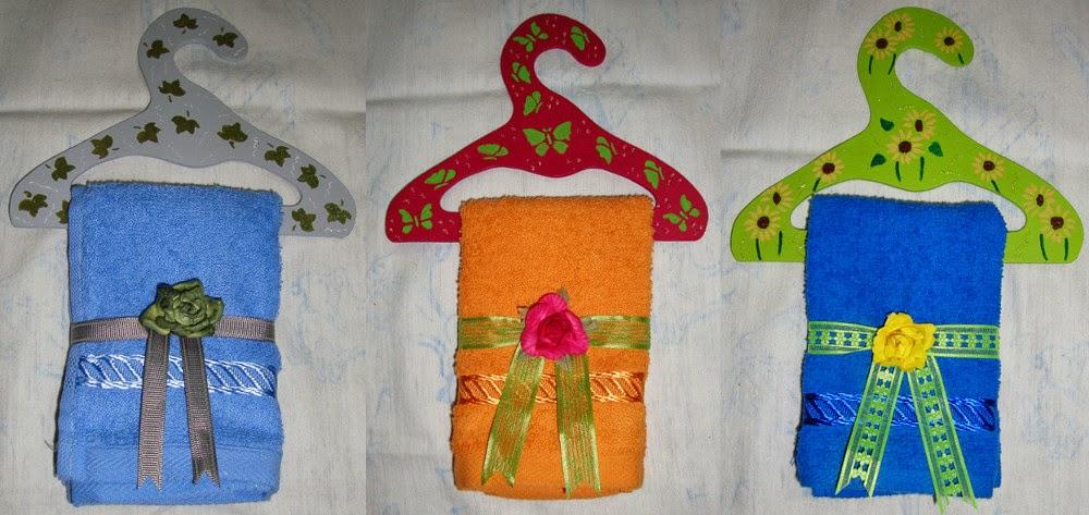 Manualidades la jefa edith toalleros for Ganchos para toallas de bano