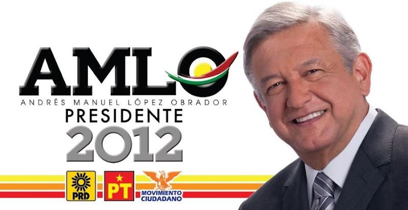 Andrés Manuel López Obrador presiente de México 2012