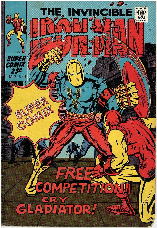 south african comic books supercomix iron man 2