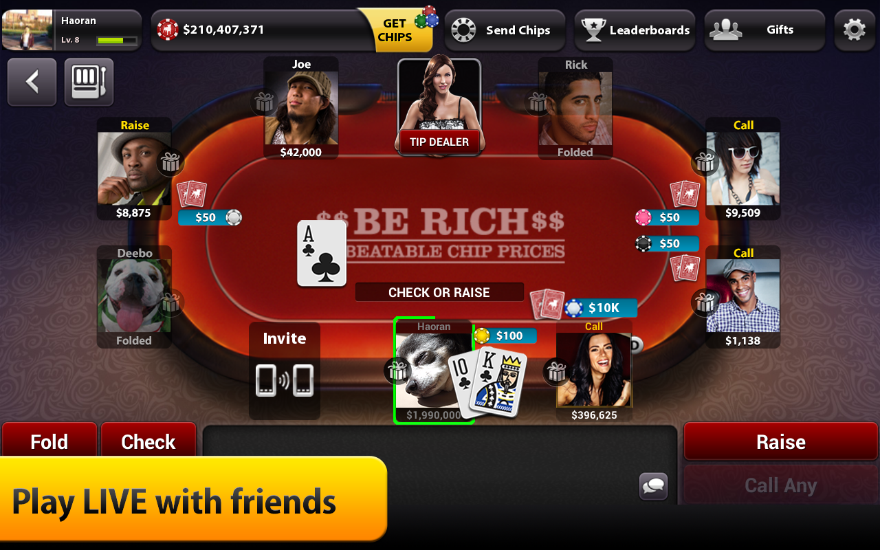 Zynga poker free chips hack 2018
