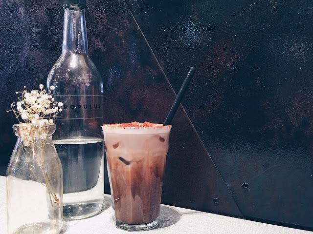 Populus Cafe - Iced Mocha