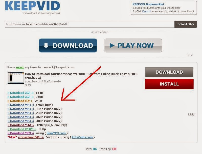 How to download youtube videos without softwares