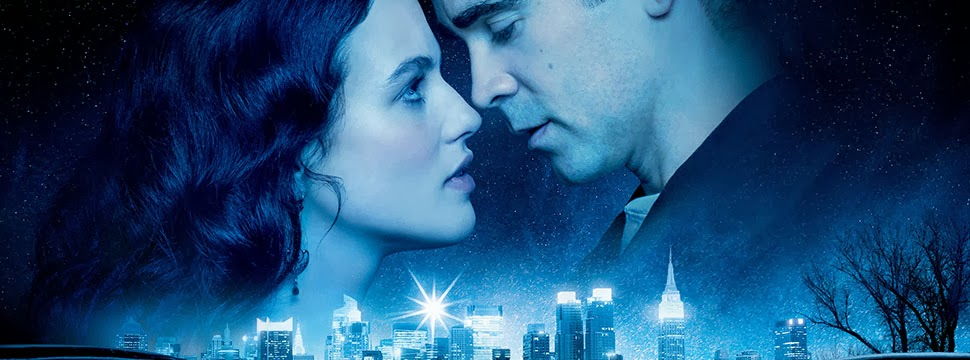 Colin Farrell and Jessica Brown Findlay in Winters Tale