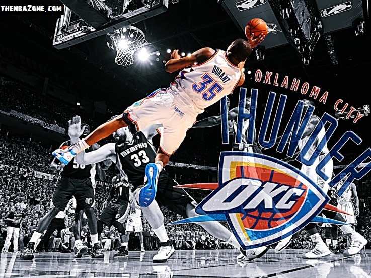 Kevin Durant NBA Playoffs 2012 Wallpaper HD