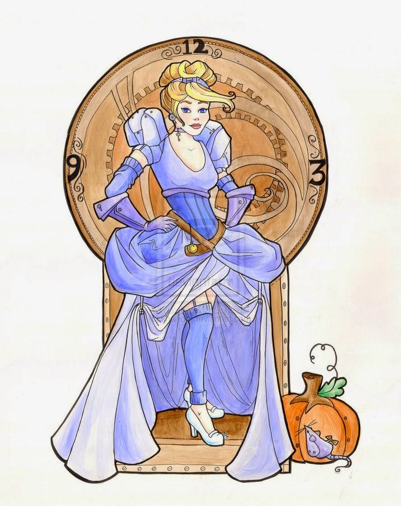http://khallion.deviantart.com/art/Steampunk-Cinderella-Acrylic-207120546