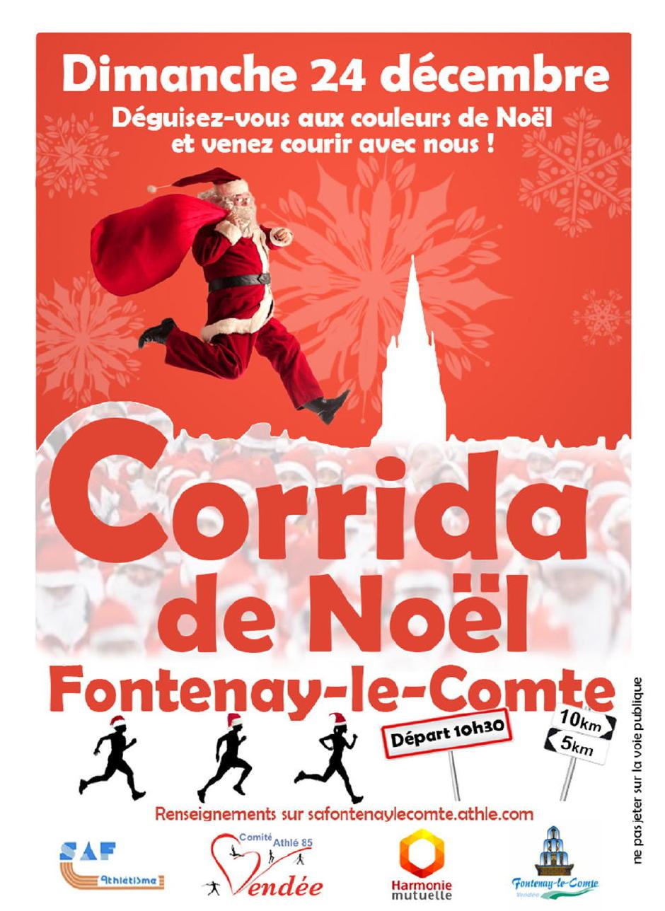 Corrida de Noël Fontenay le Comte