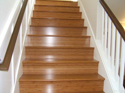 Slippery Hardwood Stairs. Noelle Kirchner Stair Master Challenge