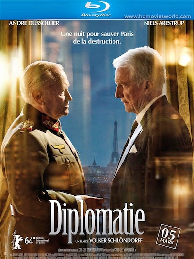 Diplomacy (2014) BluRay 720p BRRip 550MB