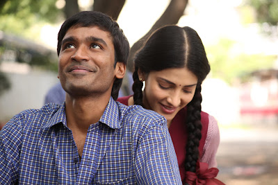Dhanush's film 3 Review