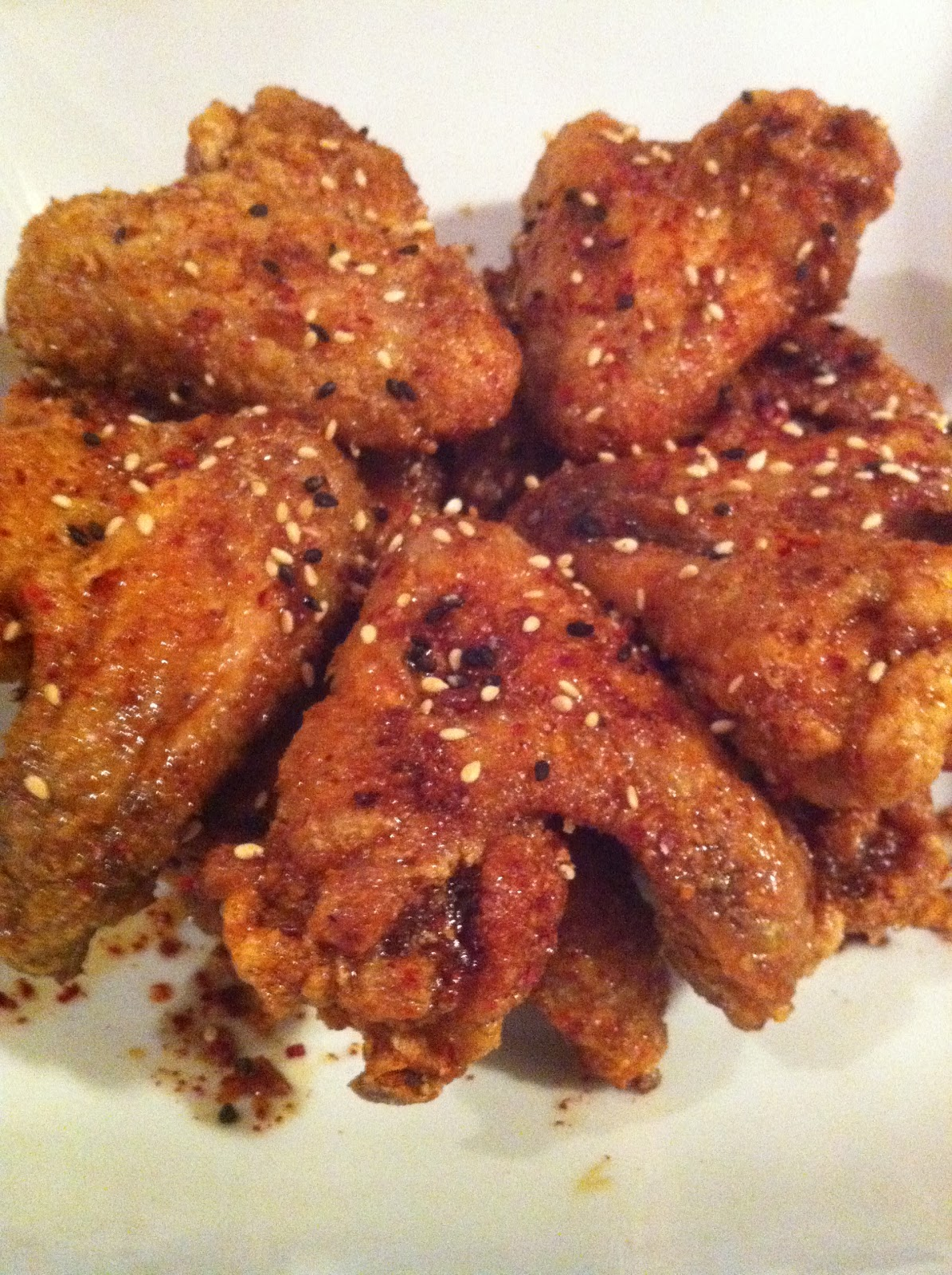 Home-made Cuisine: Japanese style fried chicken wings