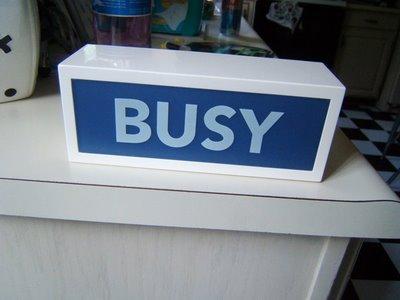 Busy + Bad News