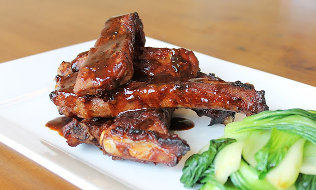 barbecue ribs, chinese ribs