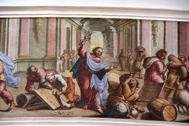 Pfarrkirche St Peter Paul Oberammergau painting