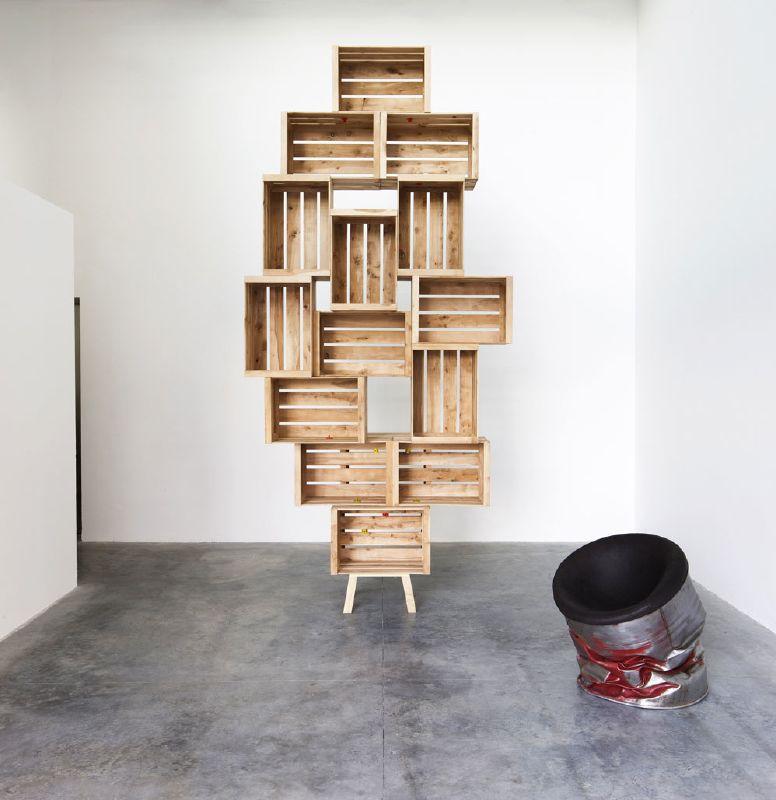si os han gustado estas estanteras hechas con cajas por favor comparte esta publicacin desde muebles de palets os estaremos muy agradecidos - Estanterias Con Cajas