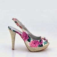 Sandale dama roz cu toc