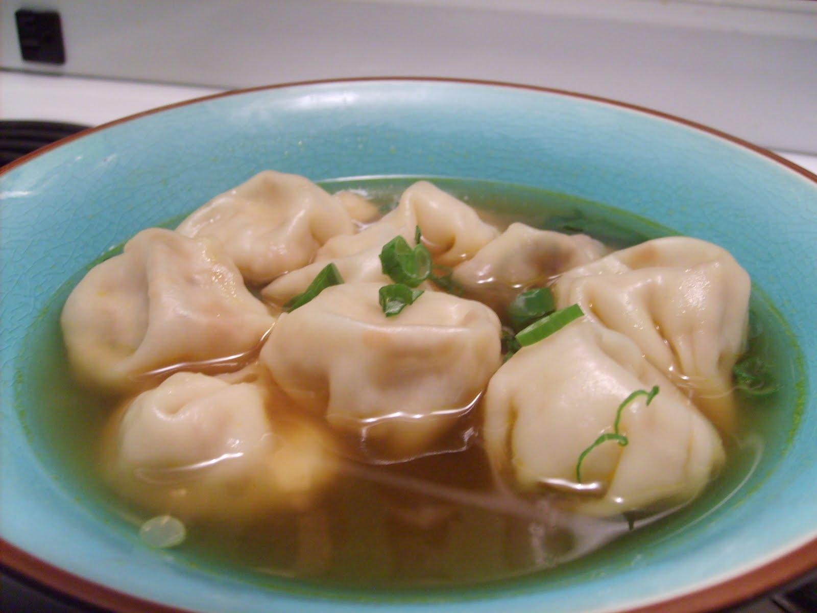 Dans la cuisine de annie capsule soupe won ton version for Cuisine quebecoise