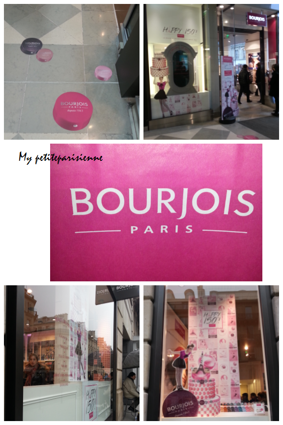 la boutique bourjois j 39 ai fait l 39 ouverture my petite parisienne. Black Bedroom Furniture Sets. Home Design Ideas